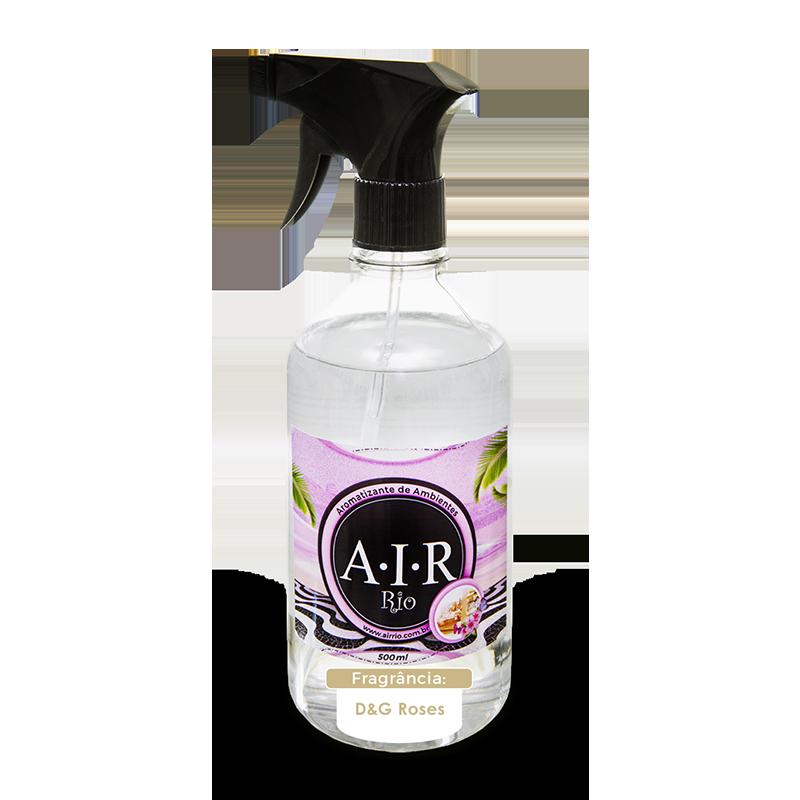 AROMATIZADOR DE AMBIENTE SPRAY AIR RIO - D&G Roses - Parfum - 500ML