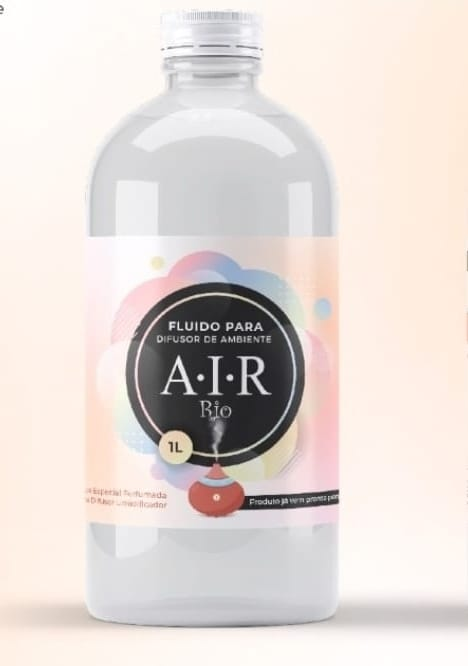 Fluido P/ Umidificador E Perfumador De Ambiente Ar-mani -1L Air Rio