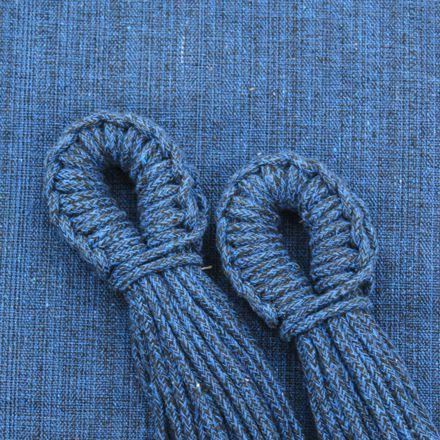 Rede de Dormir Descanso Solteiro Jeans
