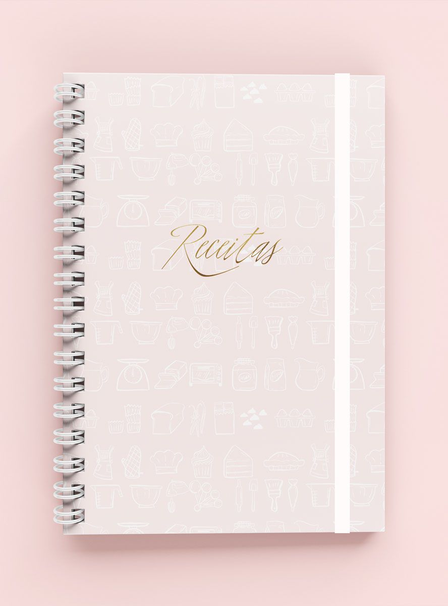 CADERNO DE RECEITAS KITCHEN
