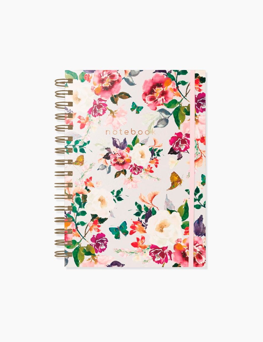 CADERNO PONTILHADO BLOOM