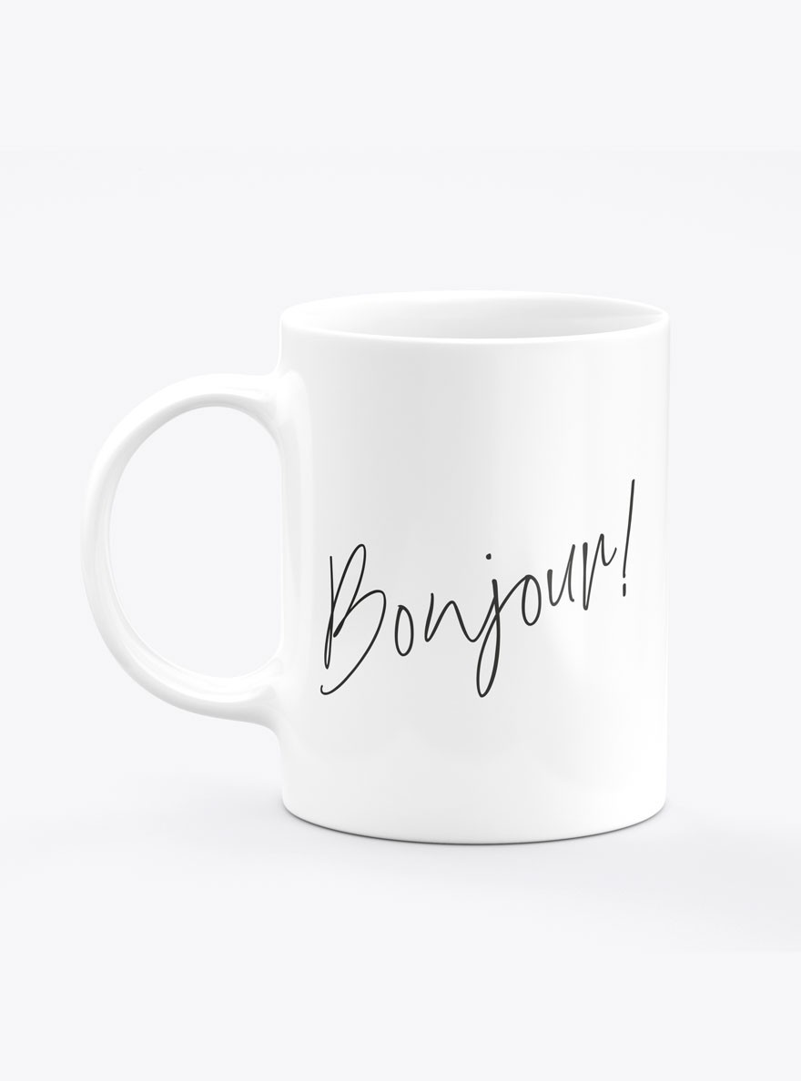 Caneca Bonjour