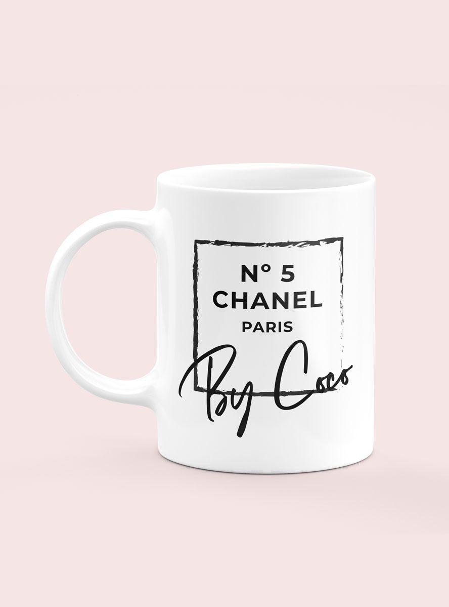 Caneca Chanel Nº5