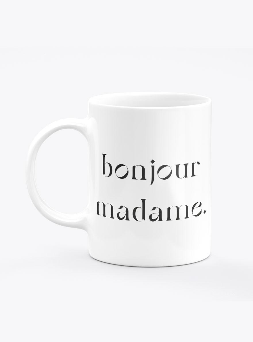 Caneca Bonjour Madame