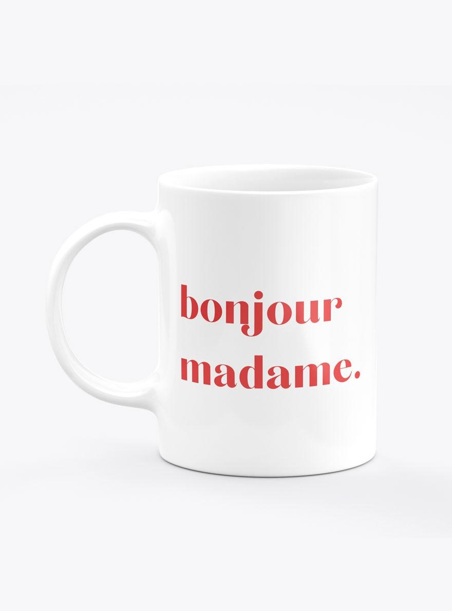 Caneca Bonjour Madame Color