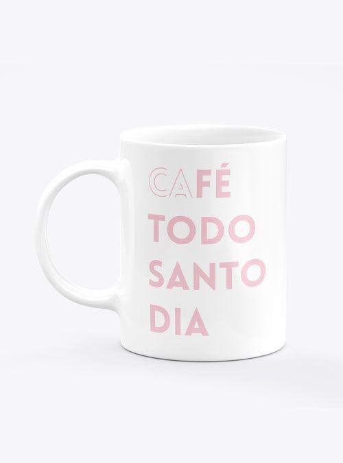 Caneca Café Todo Santo Dia