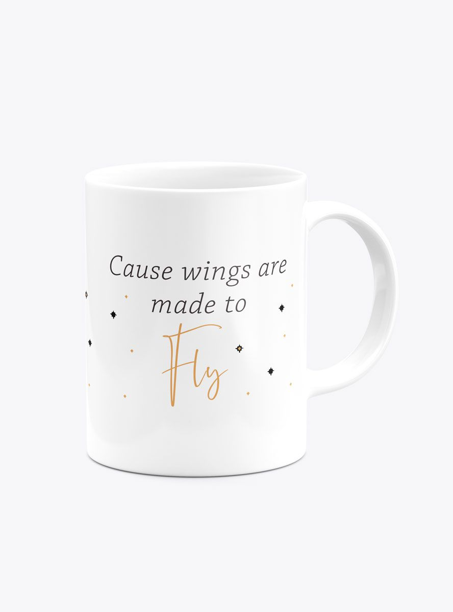 Caneca Cause Wings Are Made to Fly