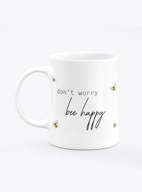 Caneca Don't Worry Bee Happy