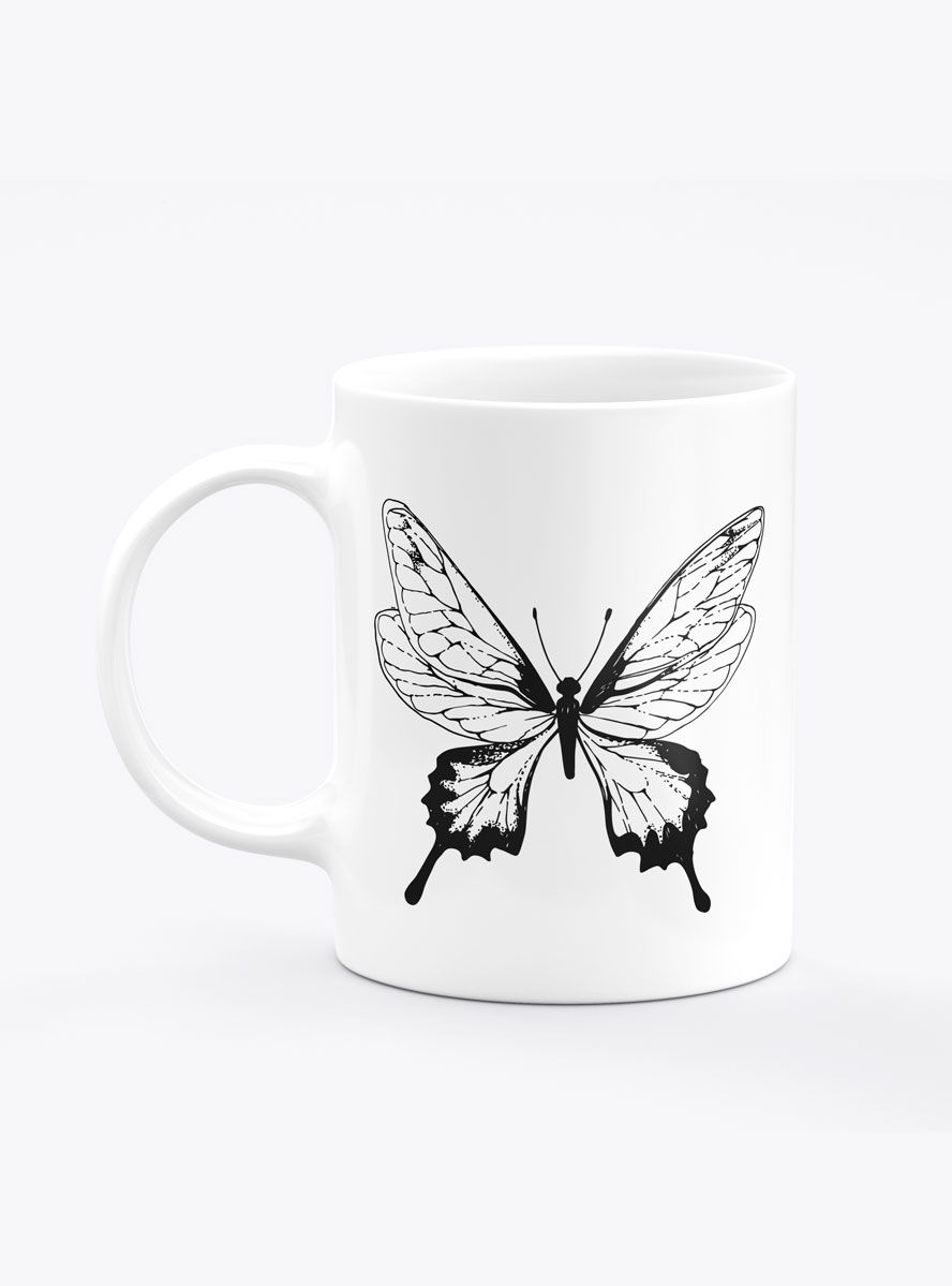 Caneca Personalizada Butterfly