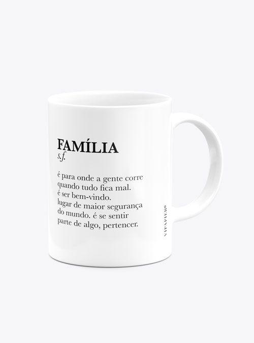 Caneca Personalizada Família