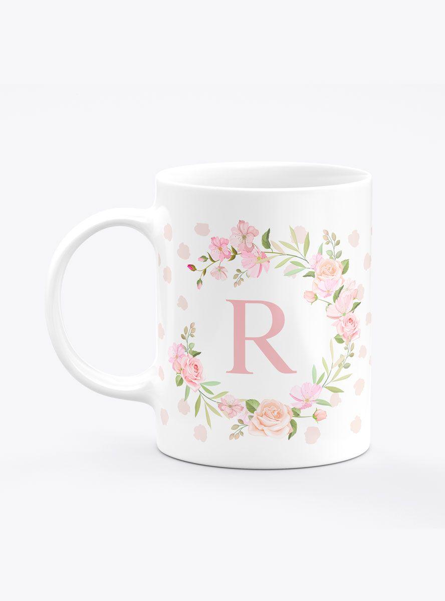 Caneca Personalizada Rosas