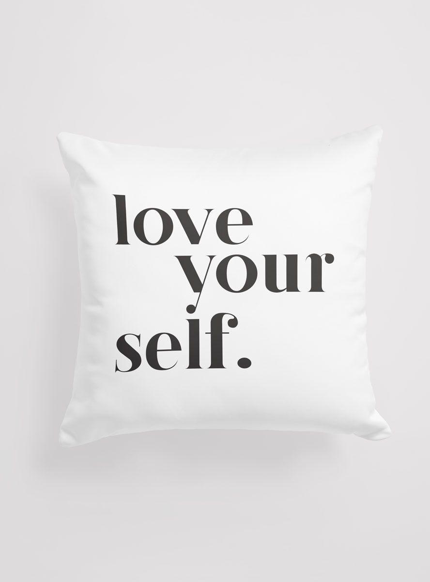 Capa Almofada Love Yourself