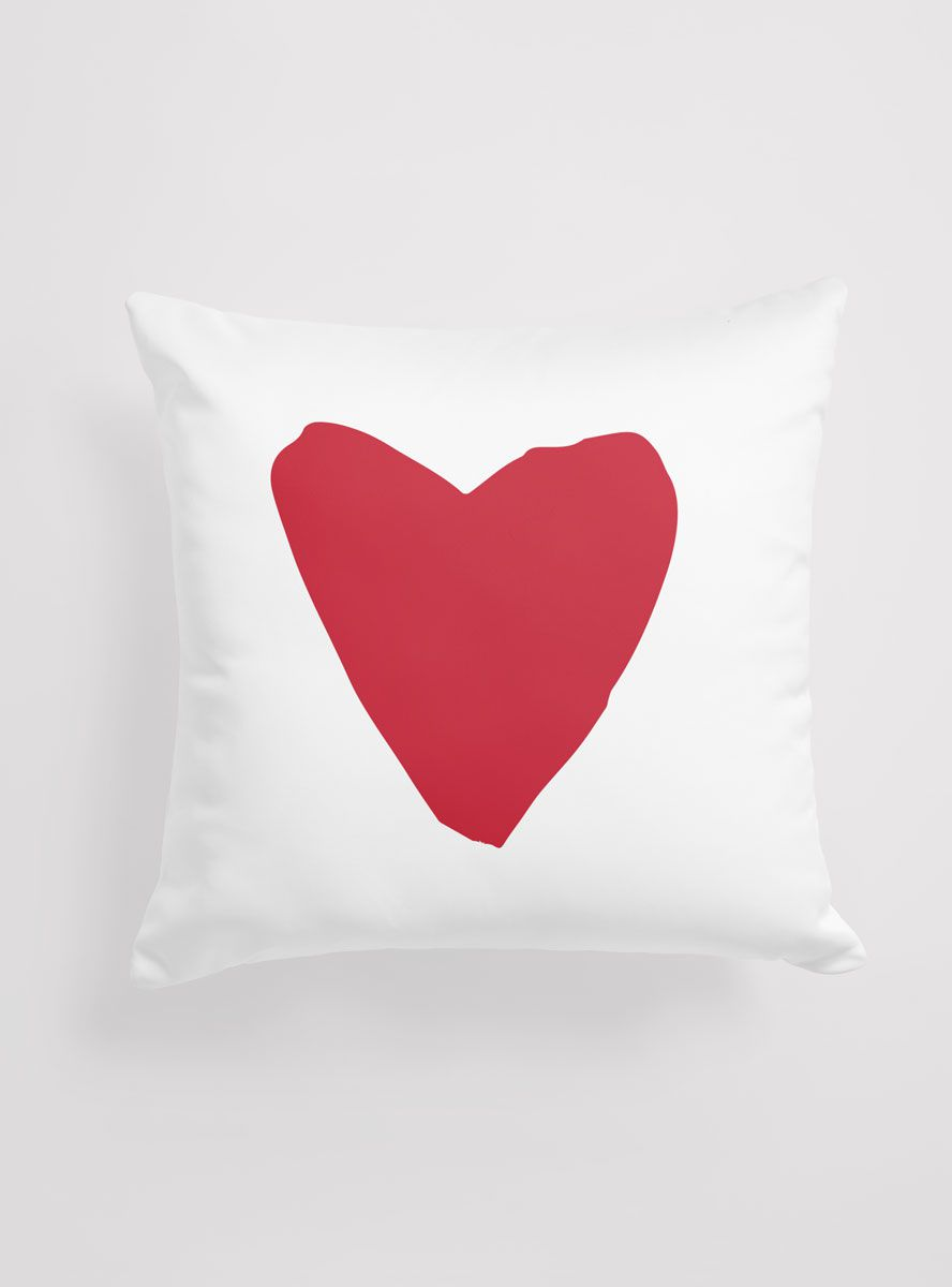 Capa Almofada Red Heart