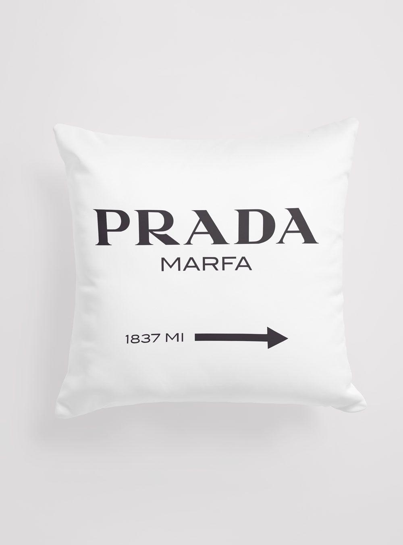 Capa de Almofada Prada Marfa