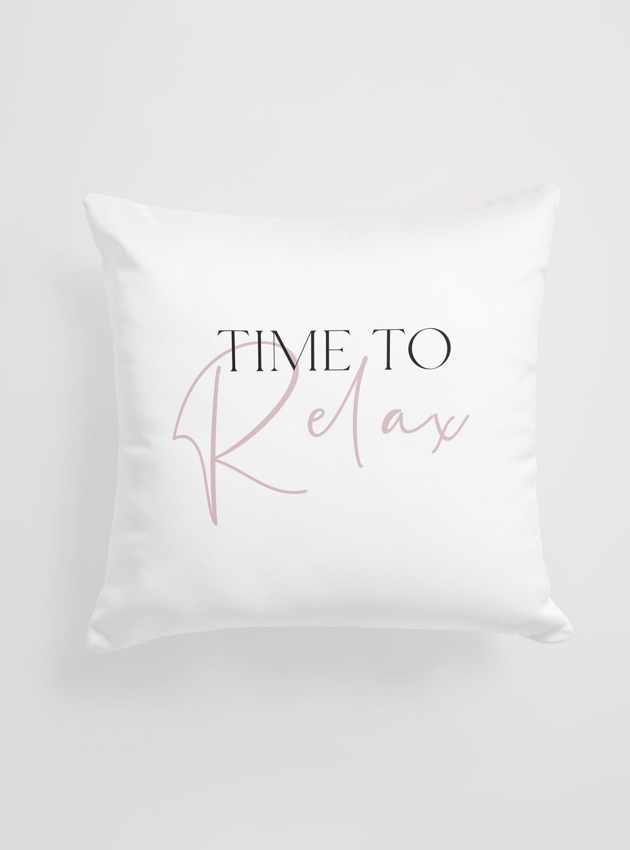 Capa de Almofada Time To Relax