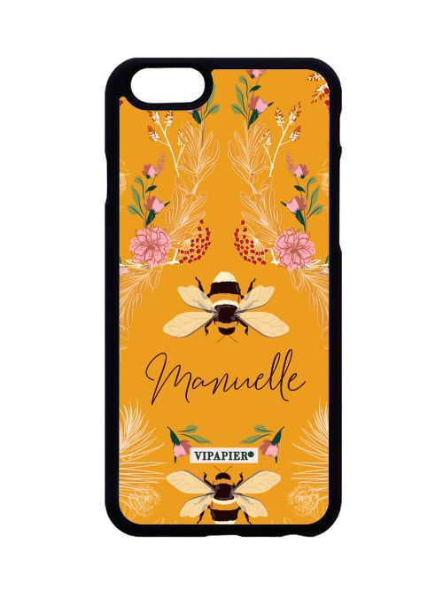 Case iPhone 6/6S Bee Flower