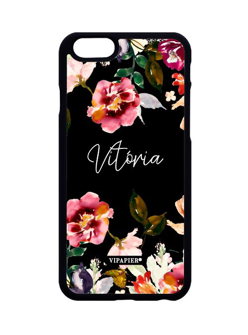 Case iPhone 6/6S Bloom Black