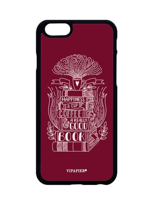 Case iPhone 6/6S Books And Coffee