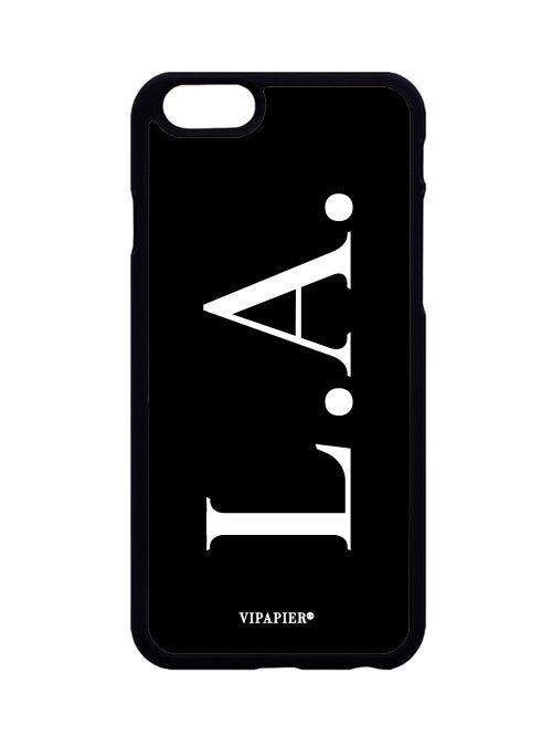 Case iPhone 6/6S PLUS Iniciais Black