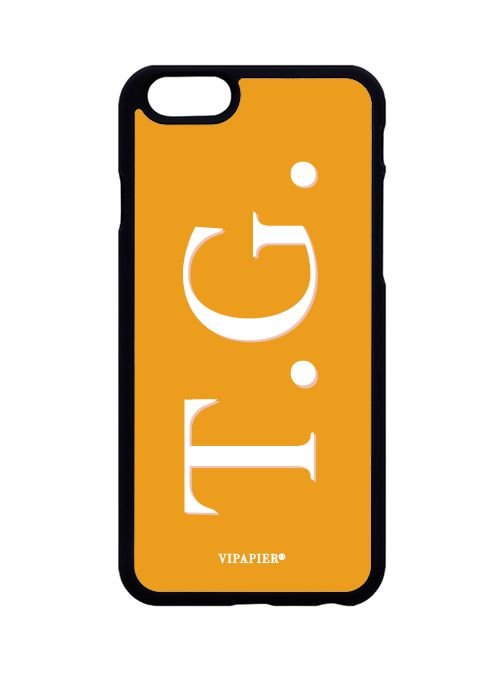 Case iPhone 6/6S Iniciais Ginger