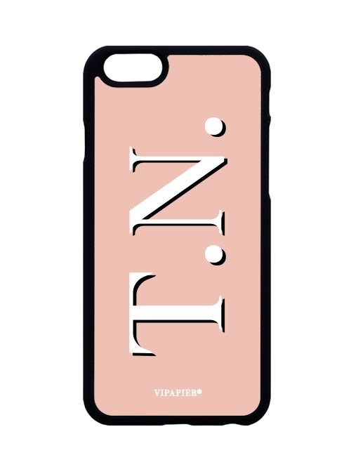 Case iPhone 6/6S PLUS Iniciais Nude
