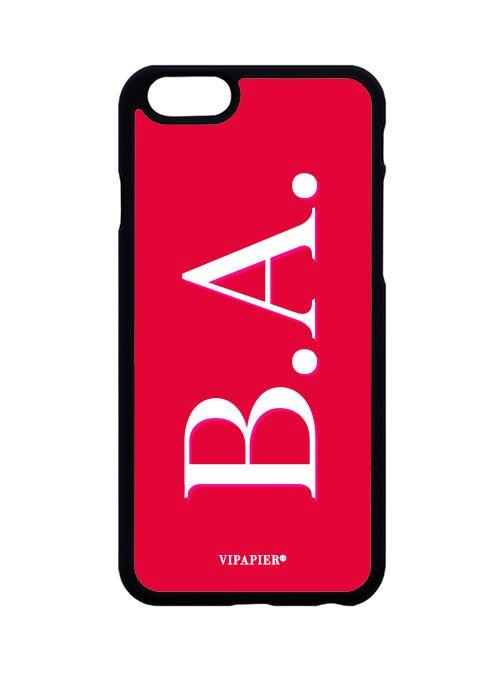 Case iPhone 6/6S PLUS Iniciais Red