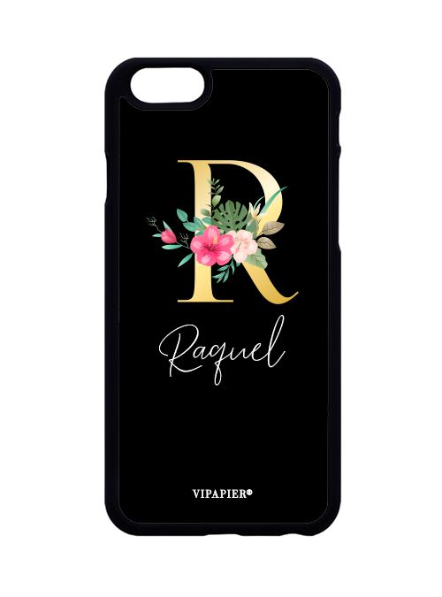 Case iPhone 6/6S PLUS Inicial Floral
