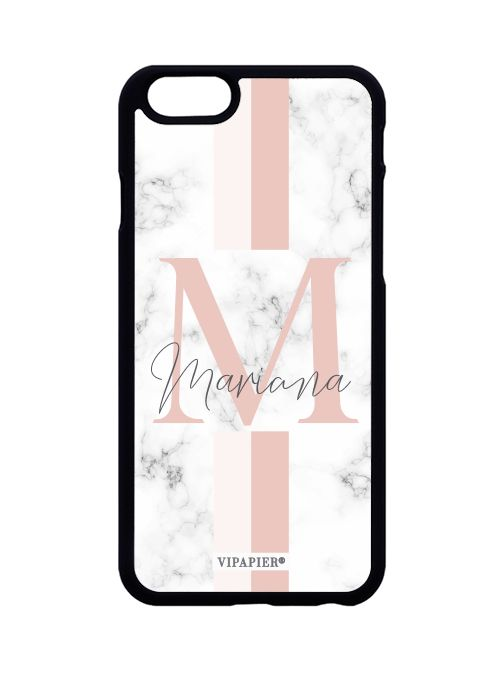 Case iPhone 6/6S Marble Blush