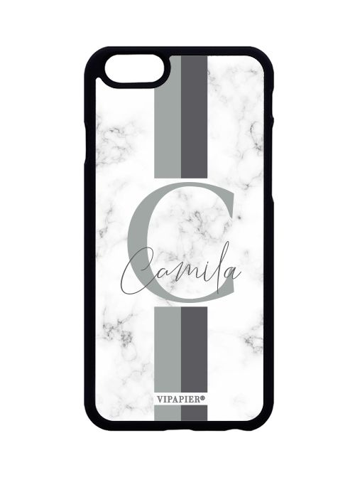 Case iPhone 6/6S PLUS Marble Cinza