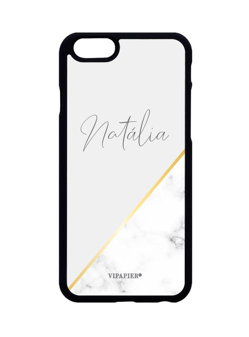 Case iPhone 6/6S Marble Gold