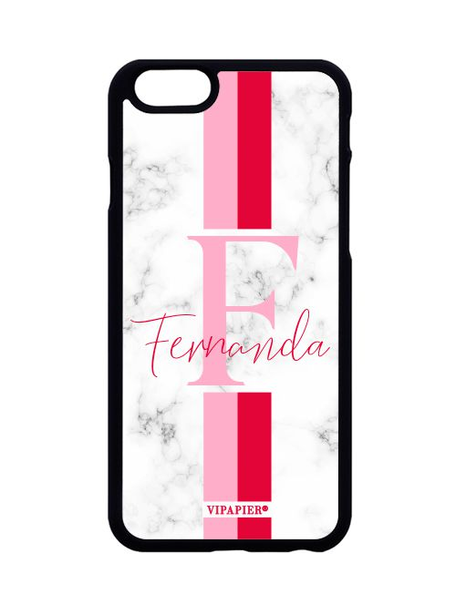 Case iPhone 6/6S Marble Red