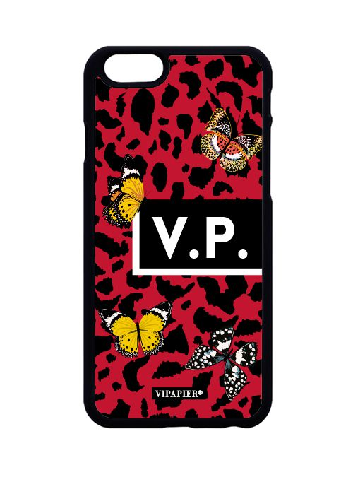 Case iPhone 6/6S PLUS Red Animal Print
