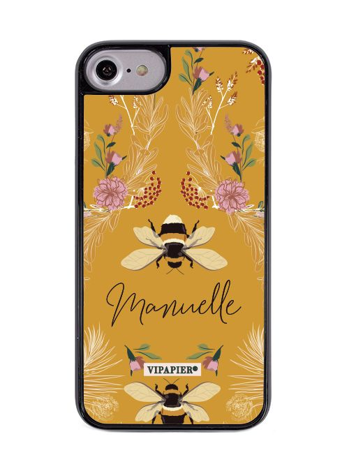 Case iPhone 7/8 Bee Flower