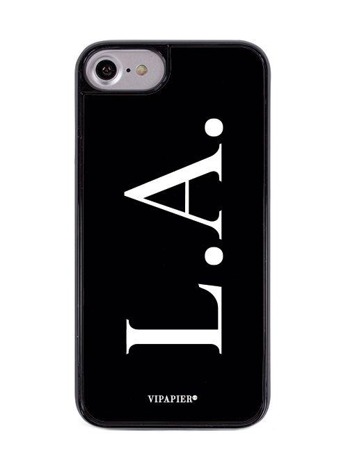 Case iPhone 7/8 Iniciais Black