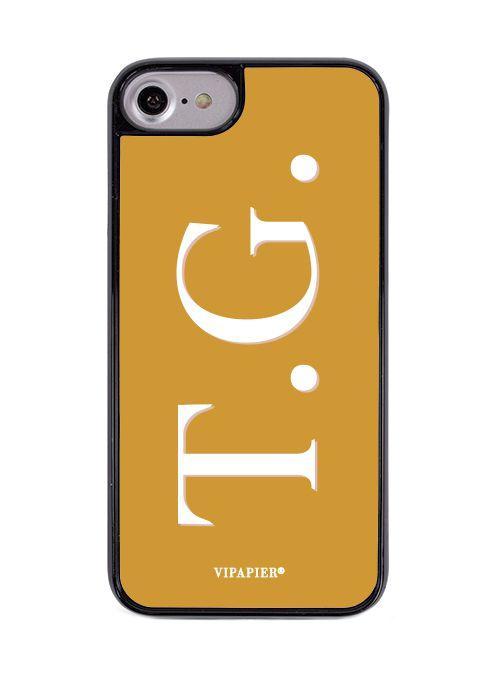 Case iPhone 7/8 PLUS Iniciais Ginger