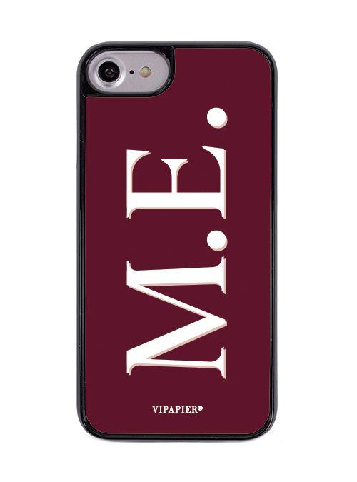 Case iPhone 7/8 PLUS Iniciais Marsala