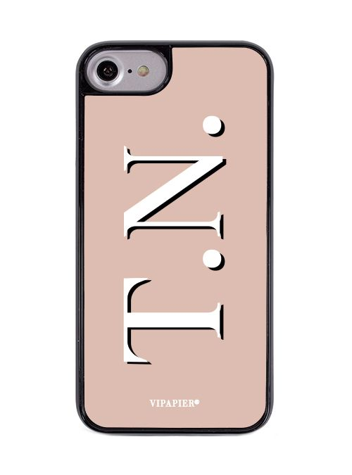 Case iPhone 7/8 PLUS Iniciais Nude