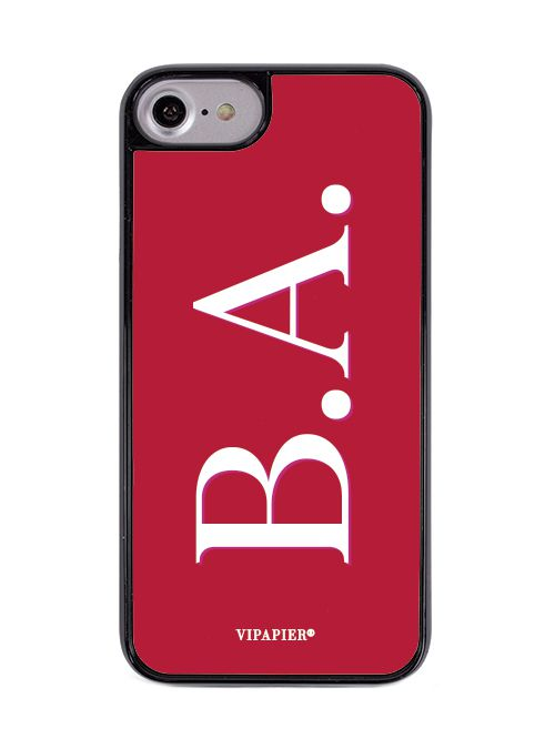 Case iPhone 7/8 Iniciais Red
