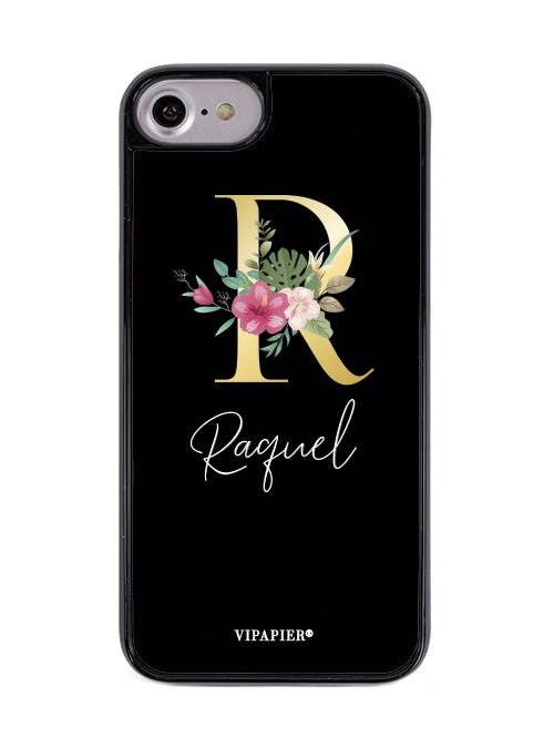 Case iPhone 7/8 Inicial Floral