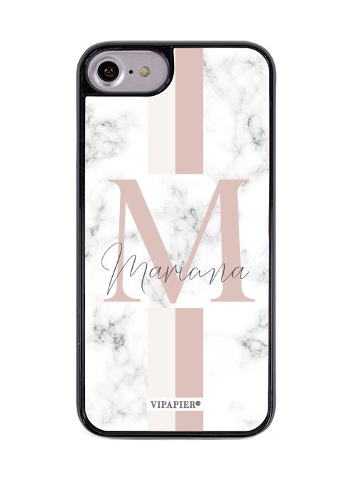 Case iPhone 7/8 PLUS Marble Blush
