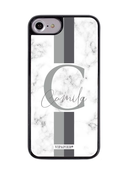 Case iPhone 7/8 PLUS Marble Cinza