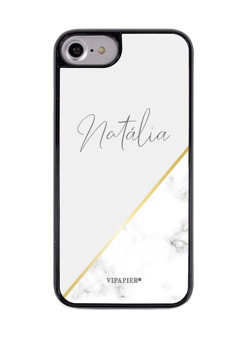 Case iPhone 7/8 PLUS Marble Gold