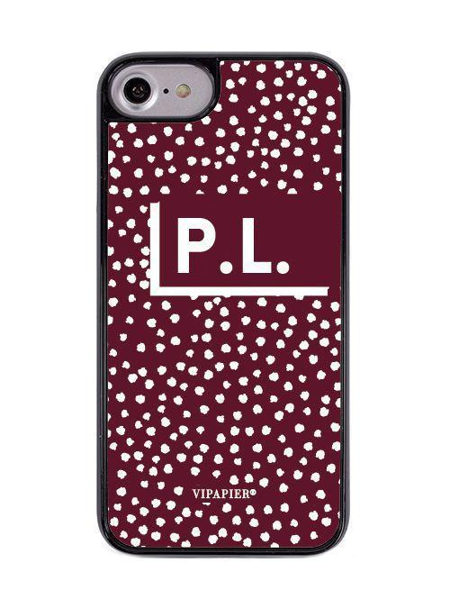Case iPhone 7/8 PLUS Marsala
