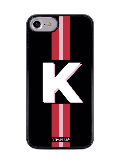 Case iPhone 7/8 Stripe Red