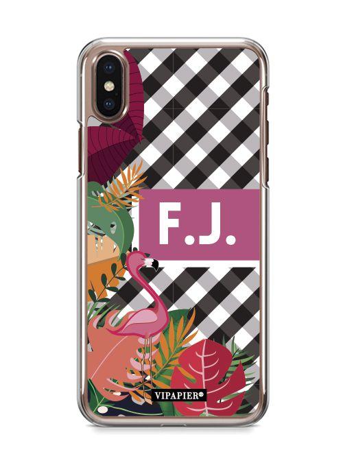 Case iPhone X Flamingo