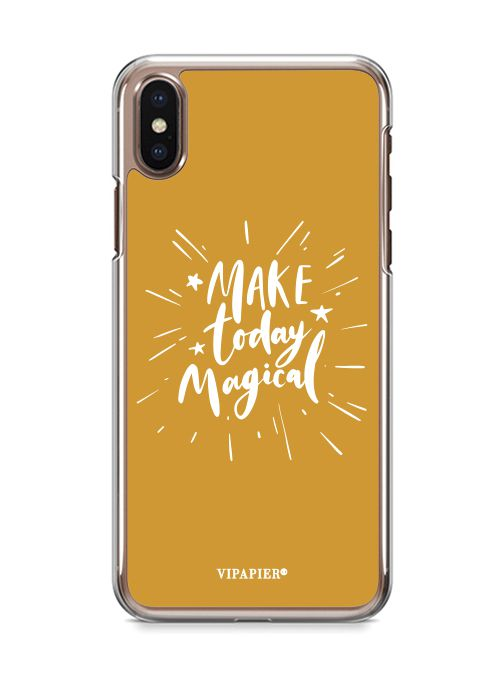 Case iPhone X Make Today Magical