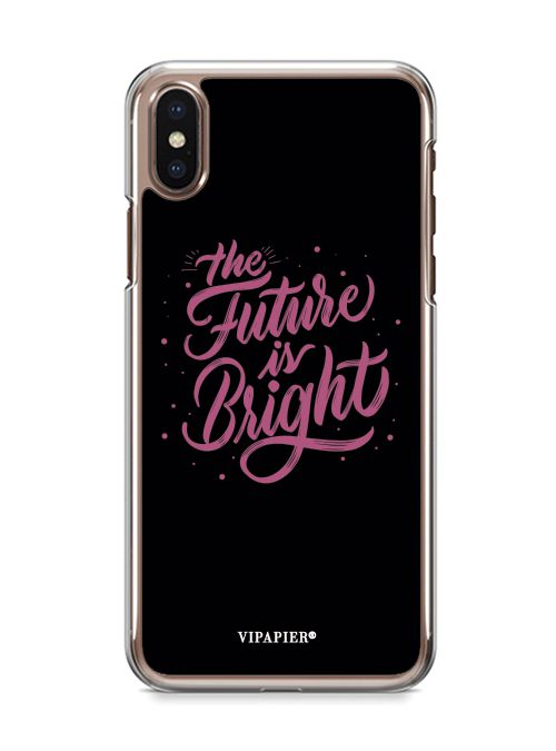 Case iPhone X The Future Is Bright