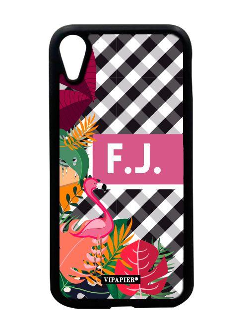 Case iPhone XR Flamingo