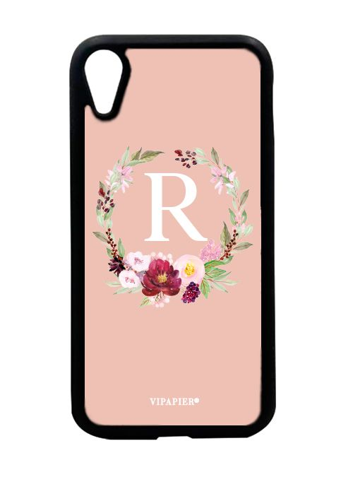 Case iPhone XR Flower Nude