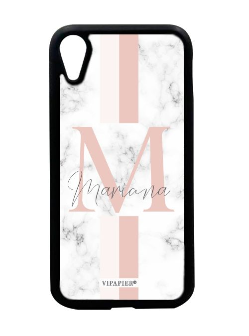 Case iPhone XR Marble Blush